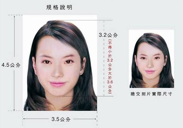 泰国签证照片尺寸要求