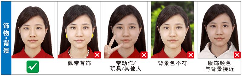 饰物背景泰国签证照片尺寸要求