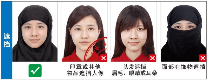 遮挡泰国签证照片尺寸要求