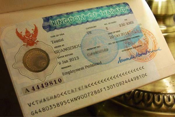 在老挝万象如何办理泰国签证